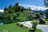 Castle Ladis with castle lake - Apartments Deluxe rooms Haus Alpenblick in Serfaus at the Sun plateau