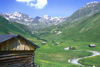 The Lausbachtal valley in Serfaus - Apartments Deluxe rooms Haus Alpenblick in Serfaus at the Sun plateau